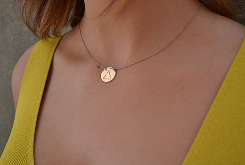 Challenge Necklace Rose Gold