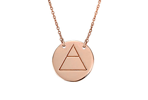 Explore Necklace Rose Gold