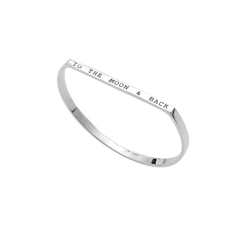 Lunar Eclipse Baby Bangle - Moon