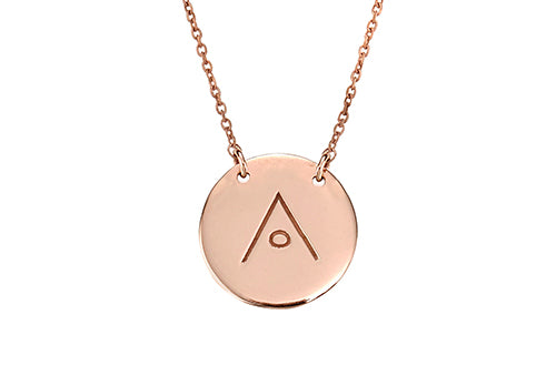 Protect Necklace Rose Gold