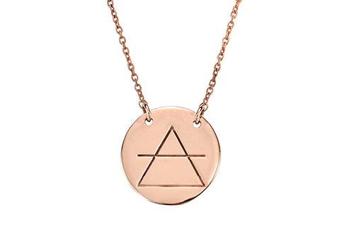 Transcend Necklace Rose Gold