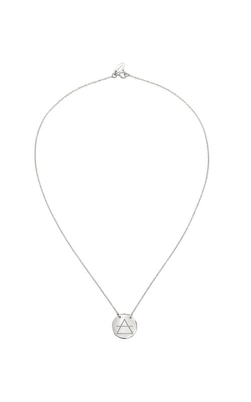 Transcend Necklace Silver