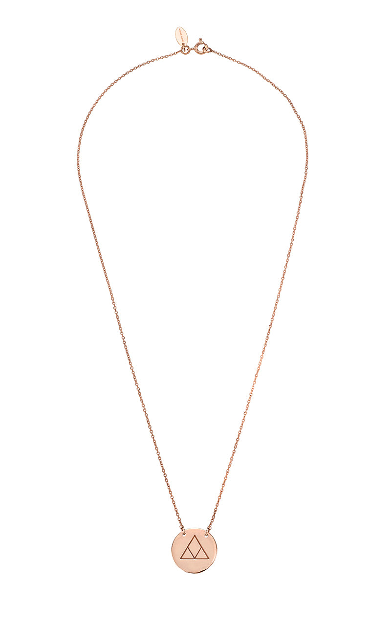 Transition Necklace Rose Gold