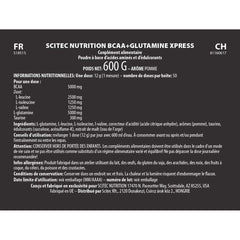 BCAA + Glutamine Xpress 600g - Scitec nutrition:Westside Nutrition