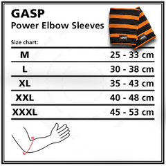 Power Elbow Sleeves - GASP:Westside Nutrition