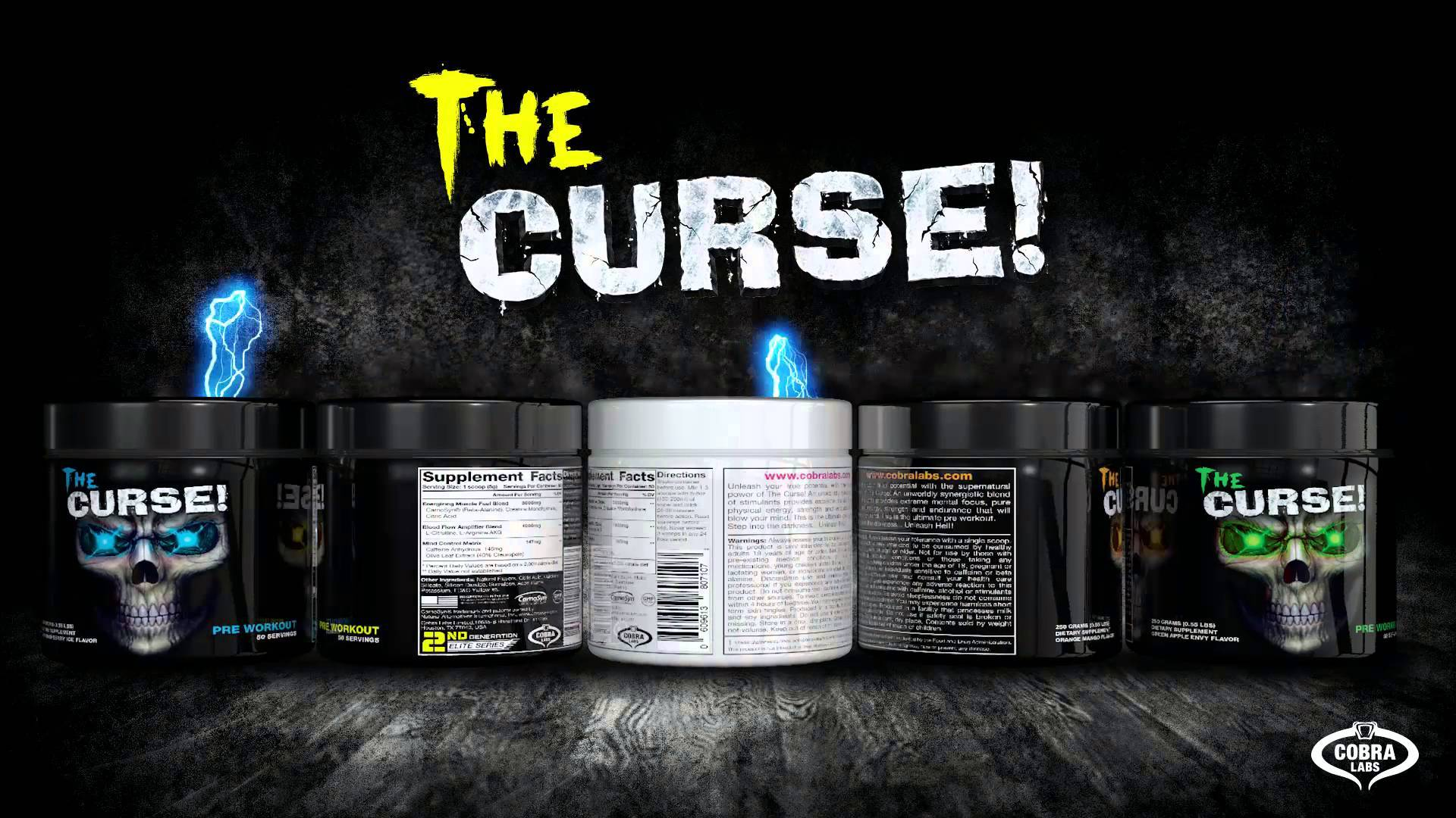 The Curse pre-workout