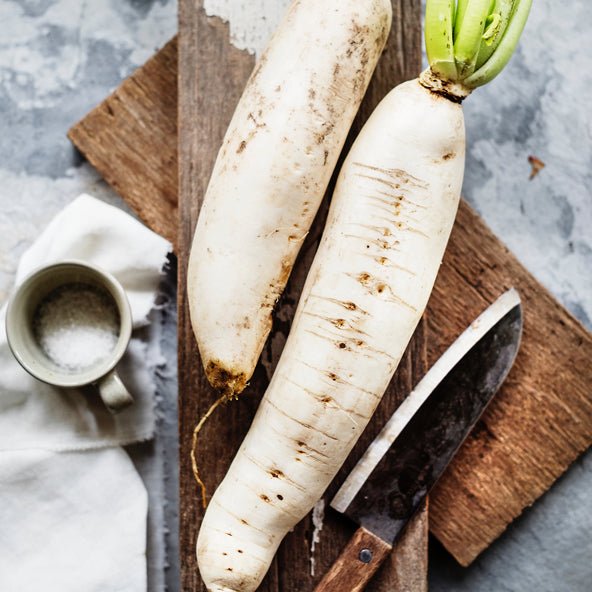 Daikon aka Winter Radish - 6 reasons why you don't want to ignore it (recipe included)