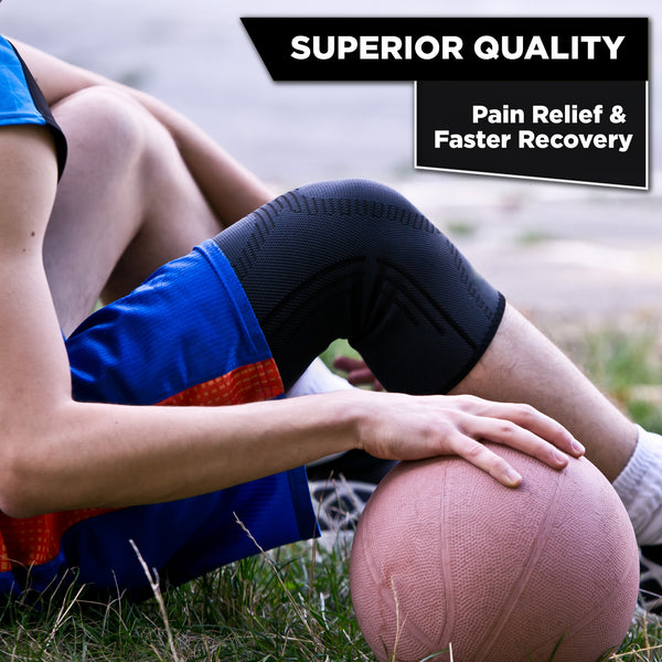 Knee Support REG-100 (Black) - Pure Support