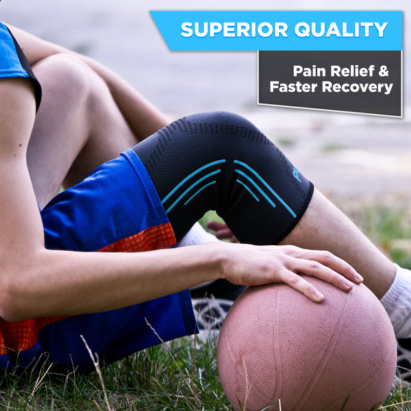 Knee Support REG-100 (Blue) - Pure Support