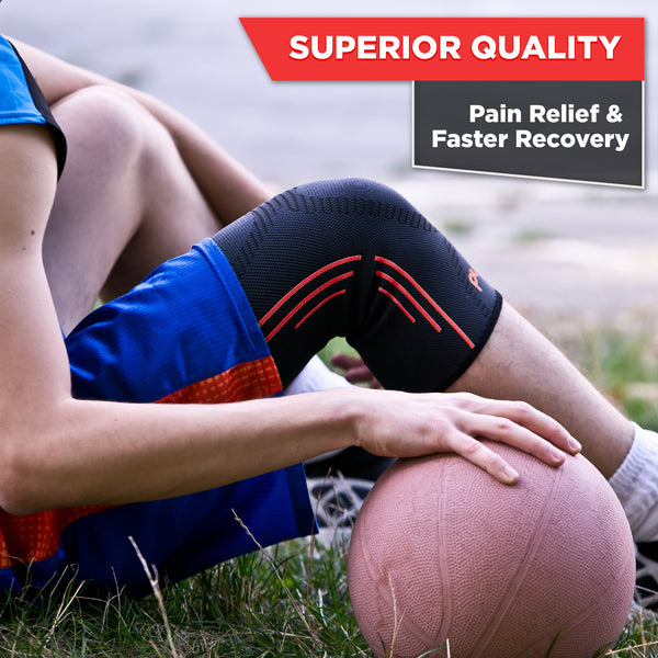 Knee Support REG-100 (Red) - Pure Support
