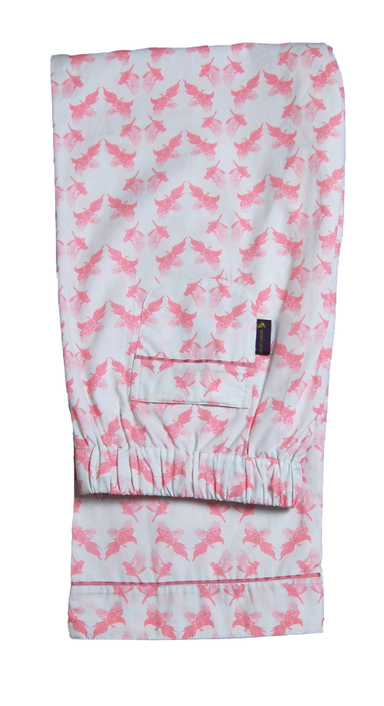 Pinks Printed Cotton Pyjama Bottoms