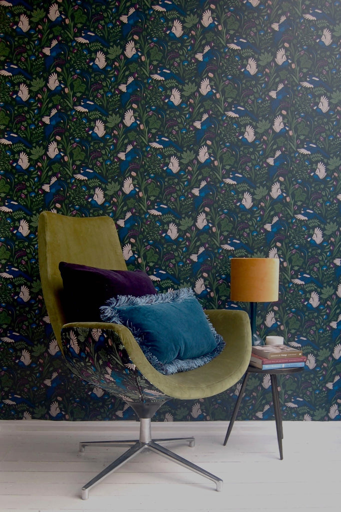 Printed Wallpaper