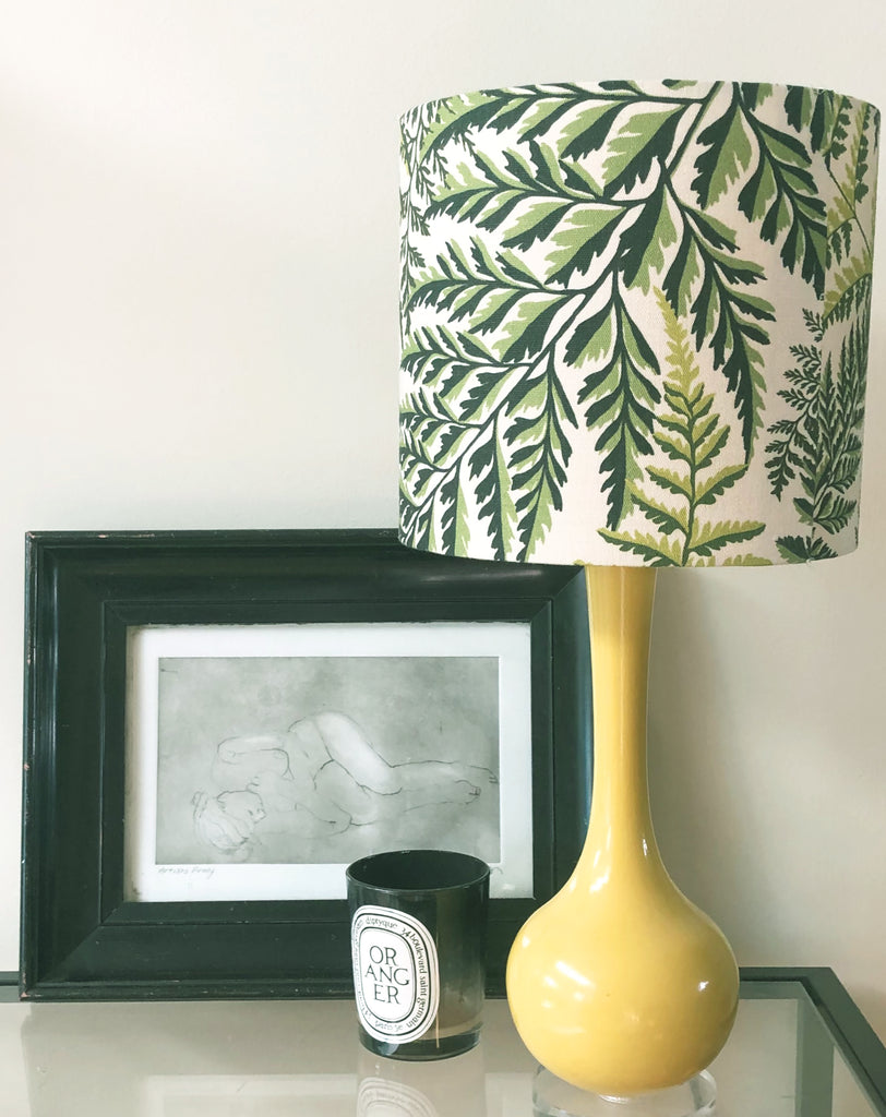 Spring Fern Lampshades