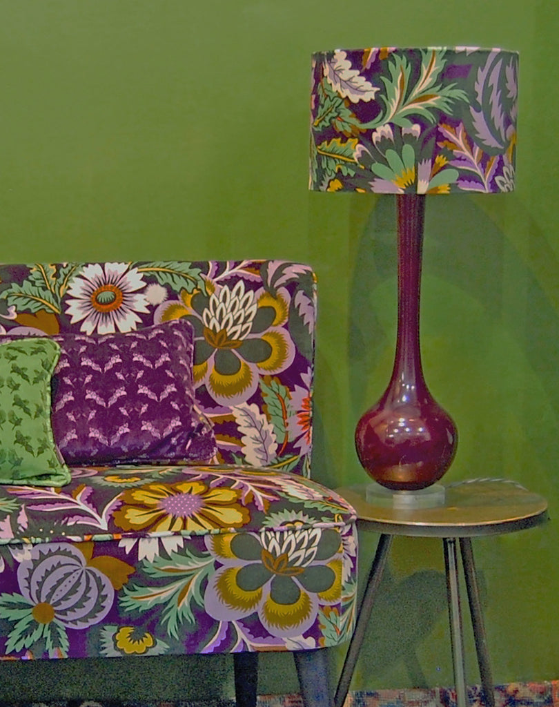 Seasons Velvet Lampshades