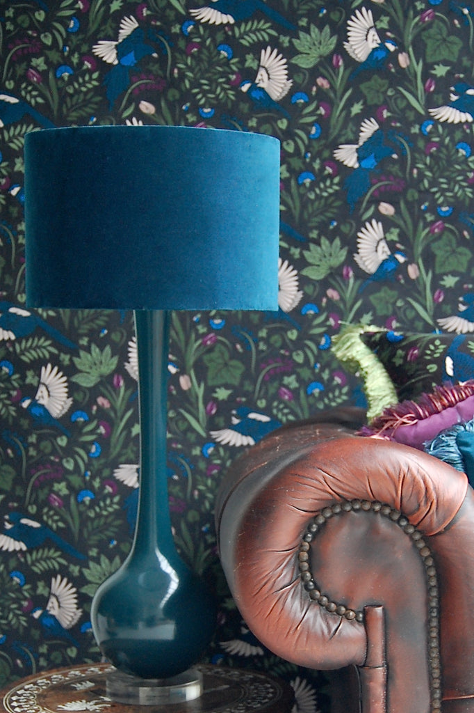 Ilkley London Velvet Lampshades
