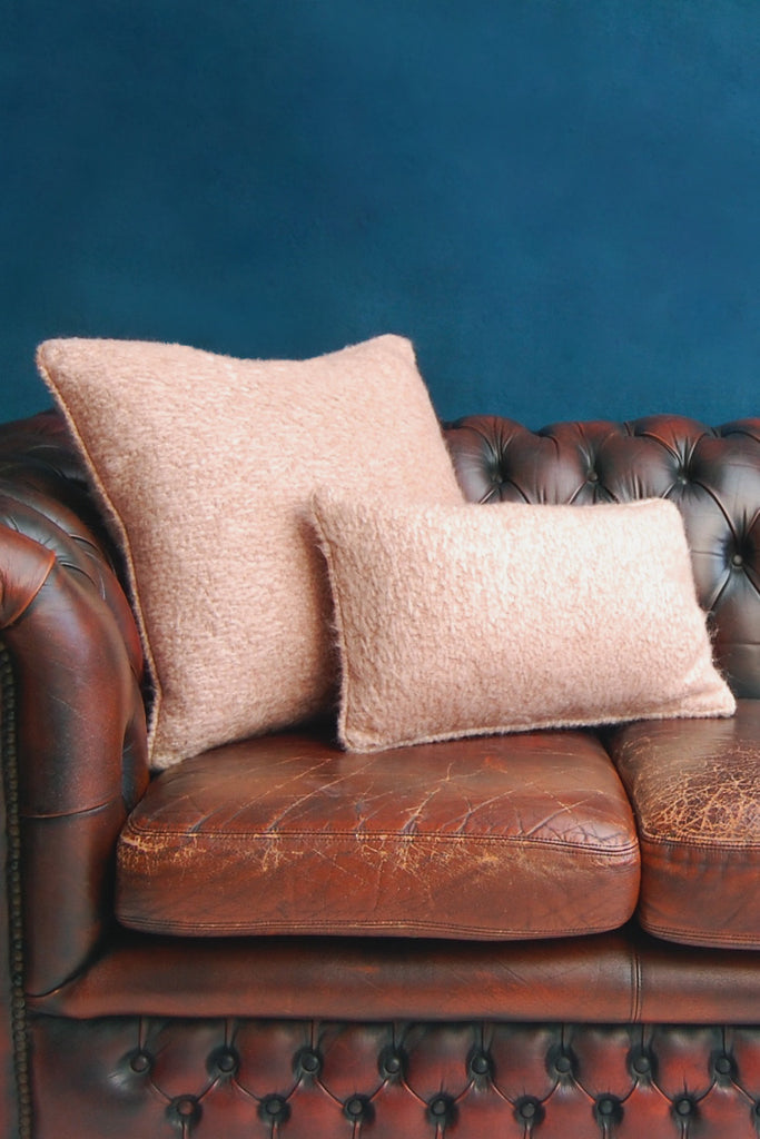 Bracken Mohair Cushion