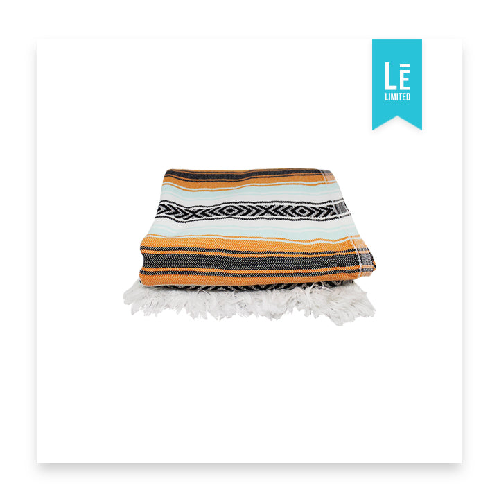 The Calico (Orange/Mint) - Bomfy Blanket - The blanket with a foot pocket