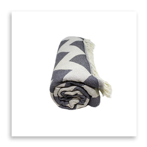 The Ziggy (Charcoal) - Bomfy Blanket - The blanket with a foot pocket
