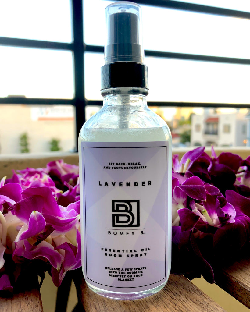 Soothing Lavender Spray - Bomfy Blanket - The blanket with a foot pocket