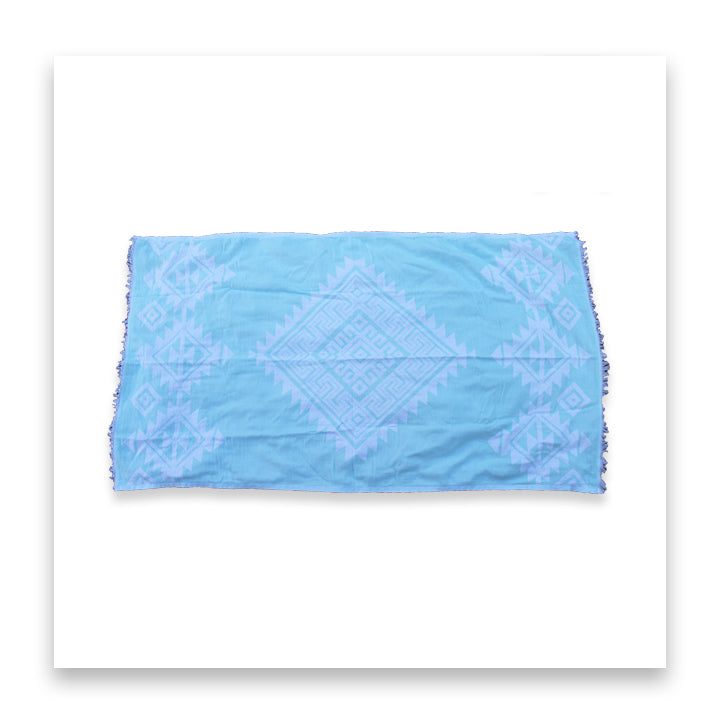 The Cabana (Mint) - Bomfy Blanket - The blanket with a foot pocket