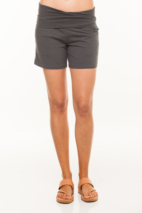 Over Belly Knitted Shorts