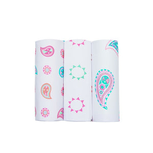 Bamboo Bubble Wrap Paisley