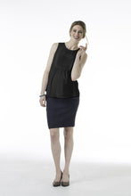 Cliona Patch Pocket Maternity Skirt - overview