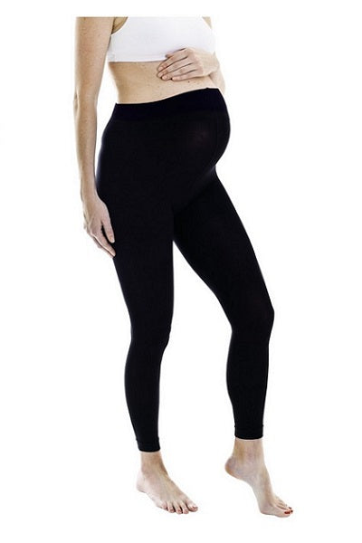 Microfibre Footless Maternity Tights