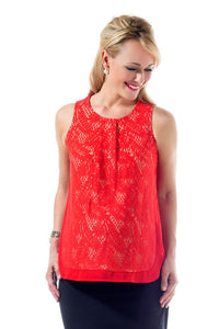 Carlee Lace Top