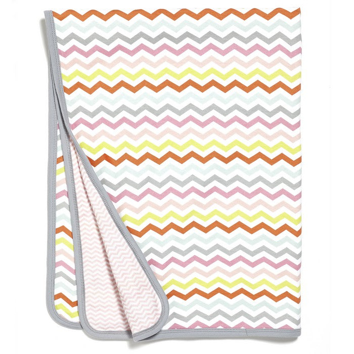 Welcome Home Reversible Blanket - Pink