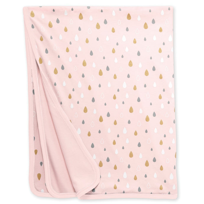 Star-Struck Reversible Blanket - Pink