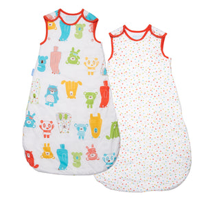 Grobag - Spotty Bear Wash & Wear (Twin Pack)