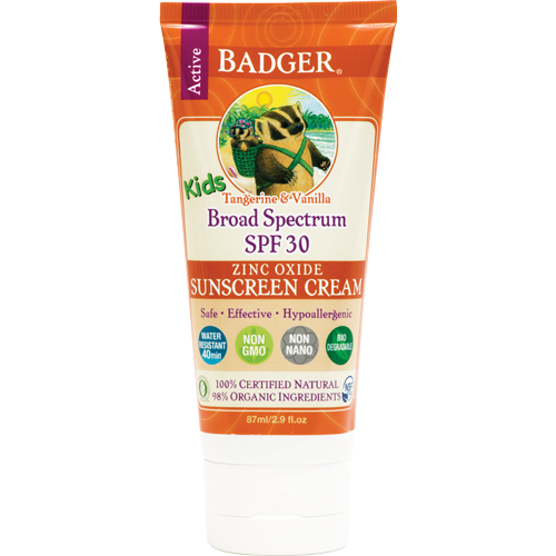 SPF 30 Kids Sunscreen Cream