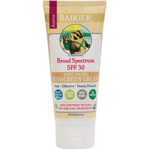 SPF 30 Sunscreen Cream - Unscented