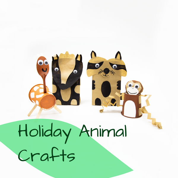 D-I-Y Holiday Animal Crafts