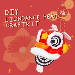 [PRE-ORDER] CNY 2021 DIY LION DANCE HEAD CRAFTKIT