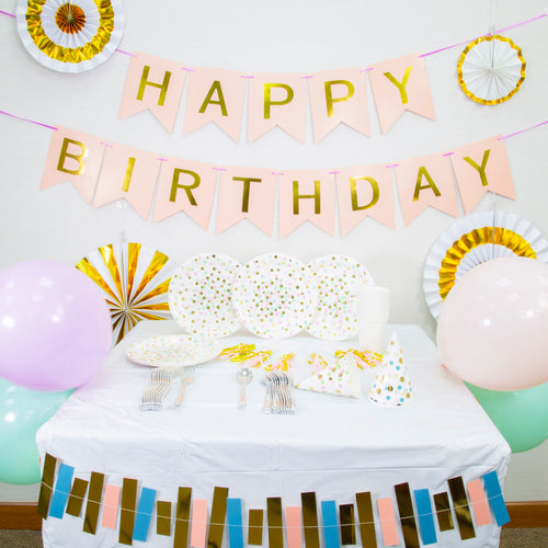 Dainty Glam Themed Birthday Party Decoration Set Up (DIY)