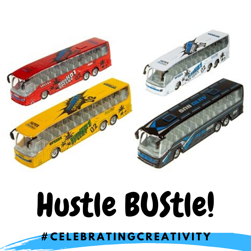 Hustle BUStle Toy Bus