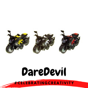 DareDevil Toy MotorBike
