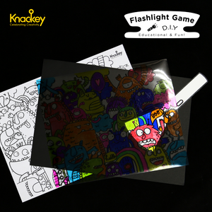 [IN-STOCK] D-I-Y FLASHLIGHT GAME (SPACE THEMED)