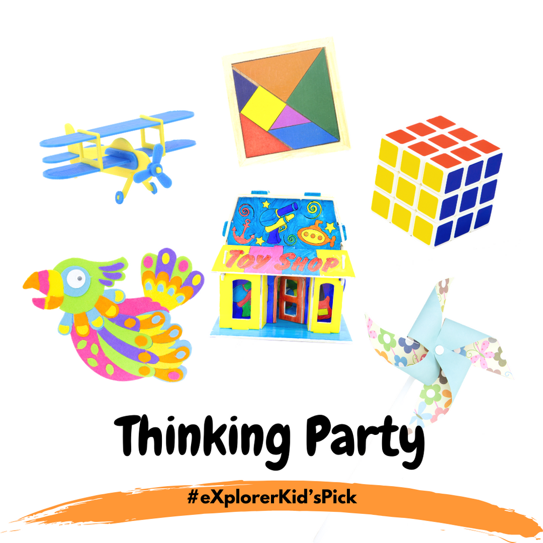 eXplorerKid's Holiday Pick - Thinking Party! (6 Day Activity Bundle)