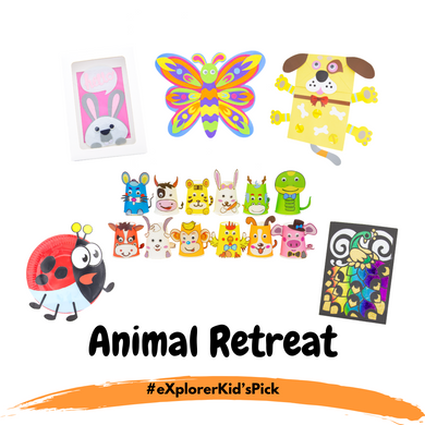eXplorerKid's Holiday Pick - Animal Retreat! (6 Day Activity Bundle)