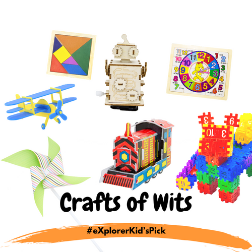 eXplorerKid's Holiday Pick - Crafts Of Wits! (7 Day Activity Bundle)