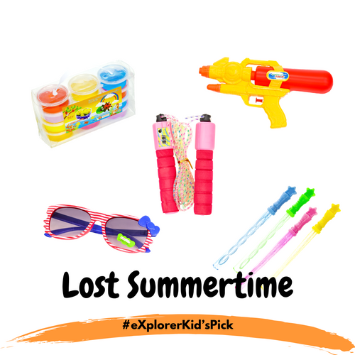 eXplorerKid's Holiday Pick - Lost Summertime! (5 Day Activity Bundle)