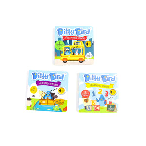 DITTY BIRD SONG BOOKS - AWARD WINNING TRIO BUNDLE