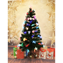 120CM COLOURFUL CHRISTMAS TREE + PASTEL ORNAMENTS (MULTIPLE LIGHTING MODES)