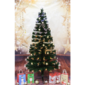 180CM SHIMMERY CHRISTMAS TREE (10 LIGHTING MODES)