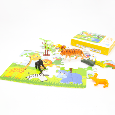 [IN-STOCK] Animal Paradise! (Puzzle & Sensory Kit)