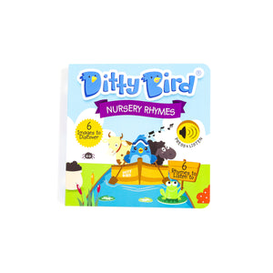 DITTY BIRD SONG BOOK (AWARD WINNING) - NURSERY RHYMES