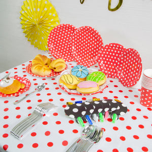 Polka Dot Fun Themed Birthday Party Decoration Set Up (DIY)